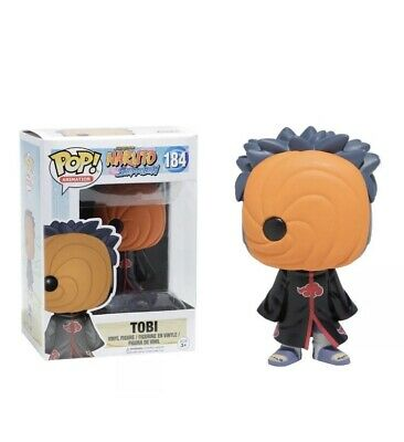 Funko Pop Animation: Naruto Shippuden - Tobi Vinyl Figure Item Mint In Protector