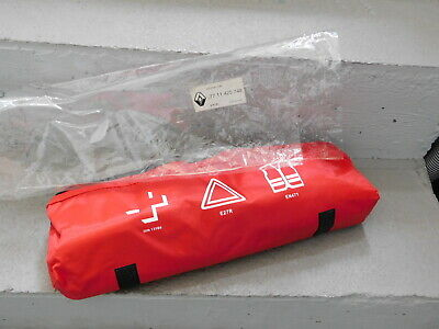 RENAULT TROUSSE PREMIER SECOURS TRIANGLE gilet jaune FIRST AID KIT safety PACK