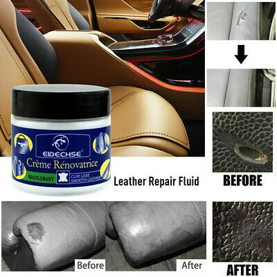 Leather Repair Filler Compound Leather Restoration Cracks Burns & Holes Cream A6
