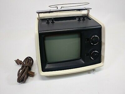Vintage Sony TV-770 Portable Transistor TV Receiver Television Tube