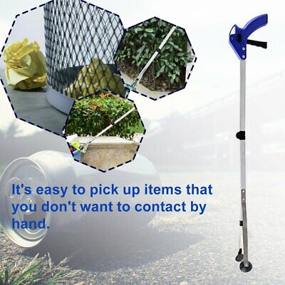 Foldable Long Reaching Pick Up Tool 83CM Claw Gripper Grabber Kitchen Tool NA