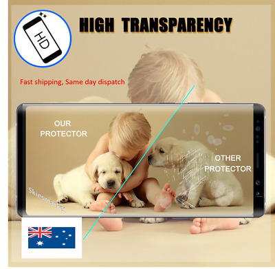 NUGLAS Tempered Glass Screen Protector Samsung Galaxy S10 S9 S8 10 Plus Note 9 8