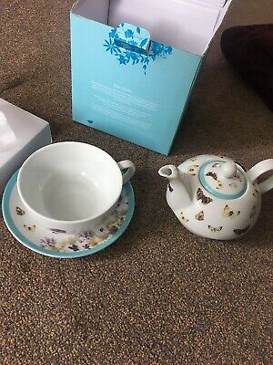 The Country Diary Of An Edwardian Lady Tea For One Teapot Boxed G1p