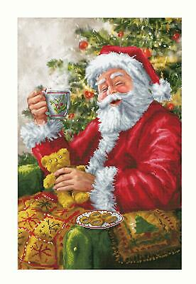 DIAMOND DOTZ Embroidery Facet Art 5D Painting Beads SANTAS CUPPA Christmas