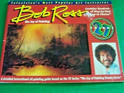 The Joy Of Painting V27 Bob Ross 1993 Oil Tv Series Step By Step Oil 13 Projects