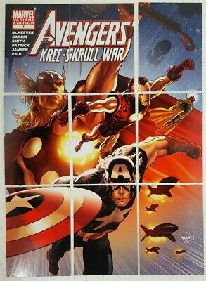2011 AVENGERS KREE SKRULL WAR Variant Cover Card Set of 9 V1 - 9