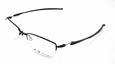 0ca872d02590 New Oakley RX Prescription Frame Lizard 2 Stn Black Titanium 5-18-135 5120