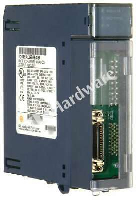 GE Fanuc IC695ALG708-CB PACSystems RX3i Current/Voltage Analog Output 8 Channel