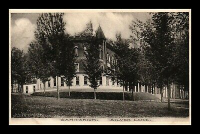 Dr Jim Stamps Us Sanitarium Silver Lake New York View Postcard