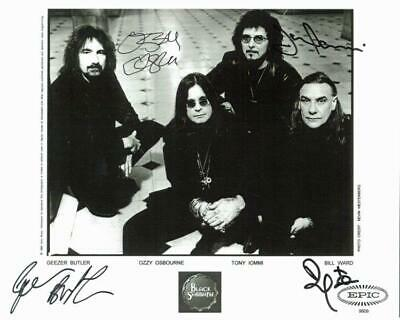 REPRINT - BLACK SABBATH Ozzy Osbourne Autographed Signed 8 x 10 Photo Poster