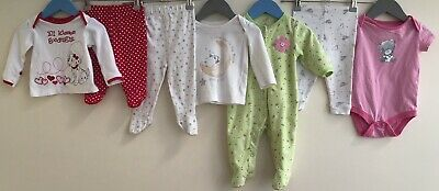 Baby Girls Bundle 3-6 Carters Tatty Teddy Little White Company George <H7108
