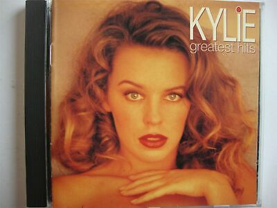 Kylie Minogue CD Album (Greatest Hits) 1992 PWL (Step Back in Time, Shocked etc)