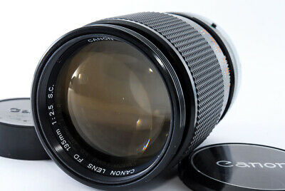 CANON LENS FD 135mm F2.5 S.C FD mount manual focus lens from japan
