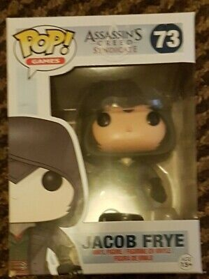 Funko POP Assassin/'s Creed Syndicate Jacob Frye Uncloaked #80