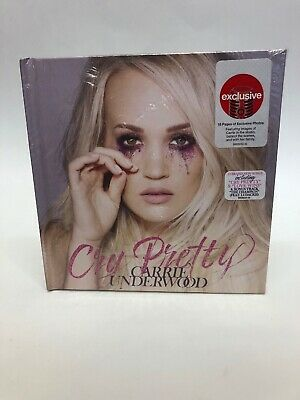 Carrie Underwood Cry Pretty NEW SEALED Deluxe Hardcover Target CD Bonus Track