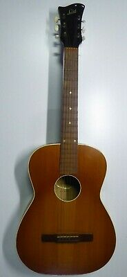 Vintage Levin Acoustic Guitar Made In Sweden Ah Herman Carlson Levin
