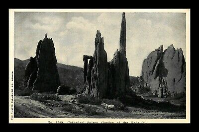 Dr Jim Stamps Us Cathedral Spires Garden Of The Gods Colorado View Postcard
