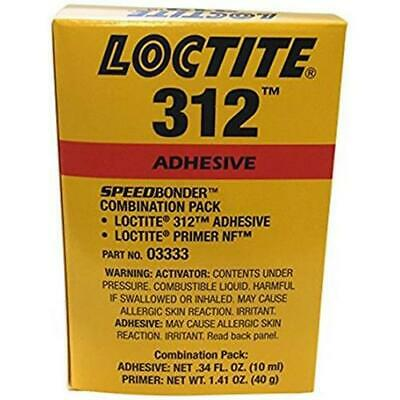 Loctite 03333, IDH 228191 AA 312 Structural Adhesive Kit, 10ml Bottles
