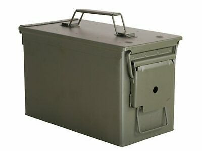 50 Cal M2A1 Metal Ammo Can Military Ammo Storage