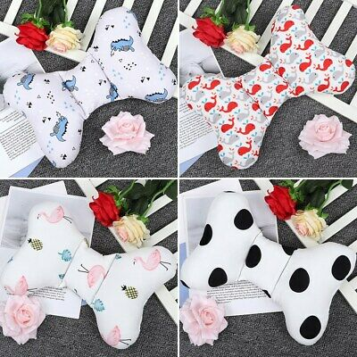 Bowknot Infant Newborn Toddler Baby Soft Head Support Cushion Cotton Pillow