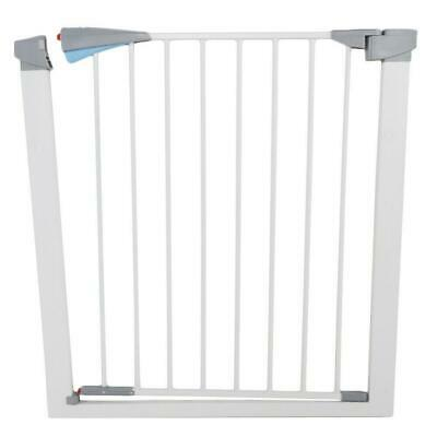 Small Baby Safety Gate Door Walk Through Toddler Child Pet Dog Cat Metal Easy