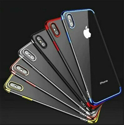 Shockproof Soft Phone Cover TPU Silicone Case Cover for iPhone X Max XR 7 8 Plus