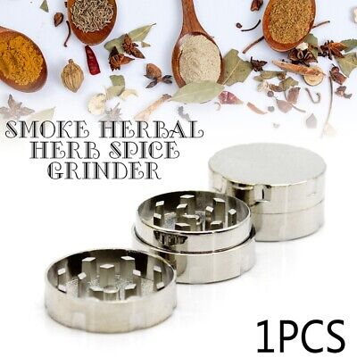 New Metal Tobacco Crusher Smoke Herbal Herb Spice Grinder Hand Muller Spice 30mm