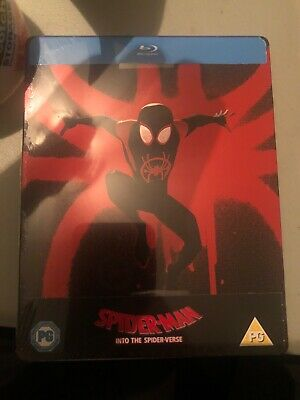Spider-man into the spiderverse Steelbook Blu ray region free limited edition