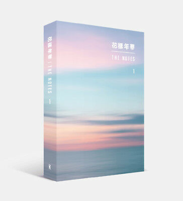 BTS - [花樣年華 The NOTES 1] 234p Book + 4 BTS Photocards [KOREAN ver.] Tracking no.