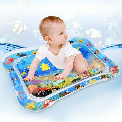 Inflatable Water Play Mat Infants Baby Toddlers Kid Perfect Fun Tummy Time Child