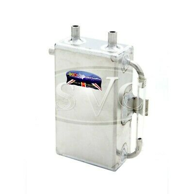 OBP 1L Square Bulk Head Mount Oil Catch Tank OBPCT001