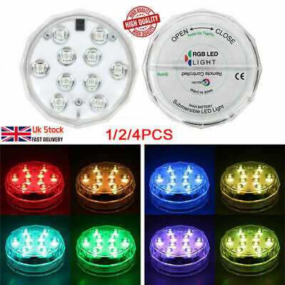 Remote Control Color Colored LED Light Boundery Style Waterproof EFX Accent 2019