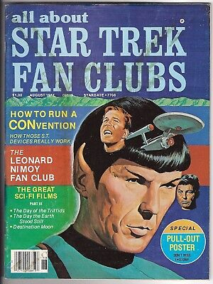 Star Trek Fan Clubs All About August 1977 4th Issue