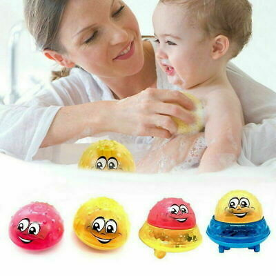 Funny Infant Electric Induction Water Spray Toy Children Baby Bath Shower Kid UK