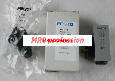 FESTO NEW PEV-1//4-B 10773 PLC Pressure Switch 24VDC Switches