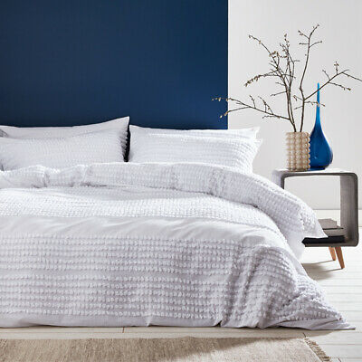 Bianca Malmo Tufted Bands 100% Cotton Duvet Cover Set