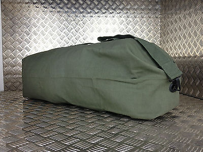 British Army Style Kitbag / Duffle / Shoulder Bag - Green / OD - NEW Faulty KB5A