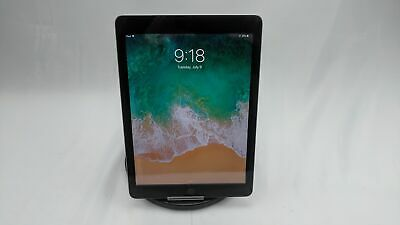 "Apple iPad 5th Gen 9.7"" 32GB Space Gray WiFi Only No Touch ID"