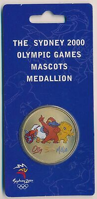 "Australia: 2000 Olympic ""Olly""  ""Syd""  ""Millie"" Sports Mascot in Perth Mint Pack"