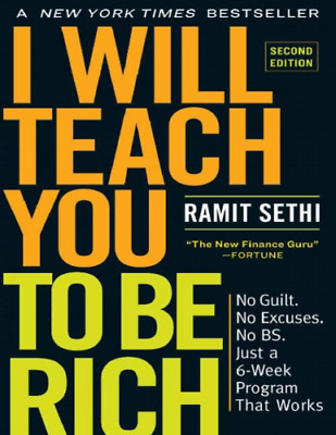I Will Teach You to Be Rich, Second Edition by Ramit Sethi -PDF Fast Delivery