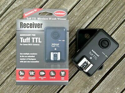 New Hahnel Tuff TTL Wireless Receiver - For Canon DSLR's - Top Quality Accessory