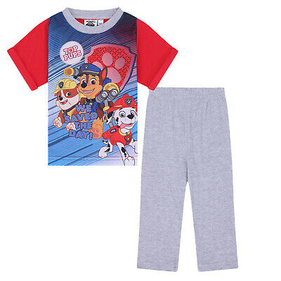 PAW Patrol Chase Marshall Official Gift Baby Toddler Boys Girls Long Pyjamas