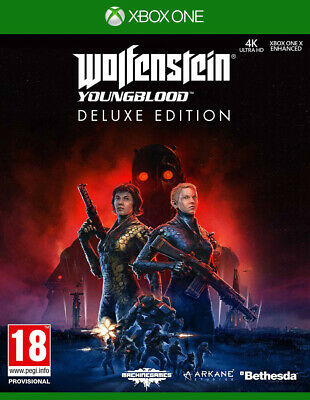 Wolfenstein: Youngblood Deluxe Edition (Xbox One) NEW AND SEALED  QUICK DISPATCH