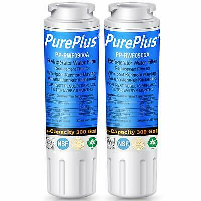 ( 2 Pack ) Refrigerator Water Filter Replacement for Whirlpool EDR4RXD2