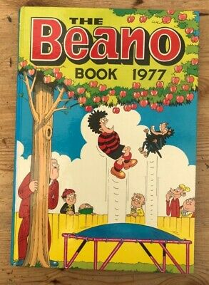 5 Beano Book Annual Bundle 1977-1981: 1977 1978 1979 1980 1981 Great condition