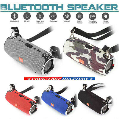 Rechargeable Portable Wireless Bluetooth V4.2 Stereo Boombox Speaker Waterproof