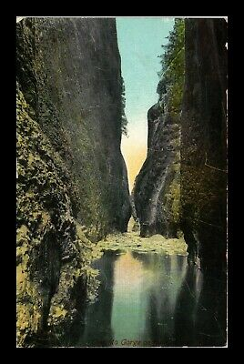 Dr Jim Stamps Us Oneonta Gorge Columbia River New York View Postcard