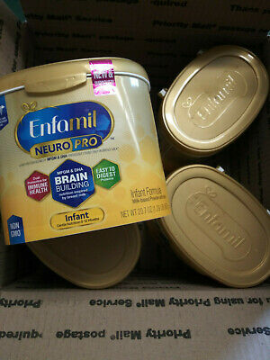 Enfamil Neuro Pro Infant Formula w/Iron, Non-GMO, 4 - 20.7oz Tubs  EXP  01/20