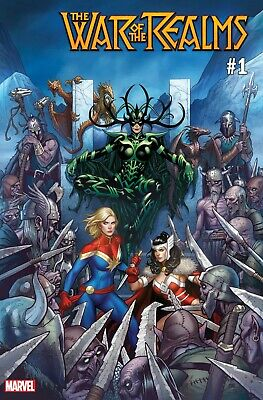 War of the Realms #1 Marvel Comics 2019 Frank Cho Variant