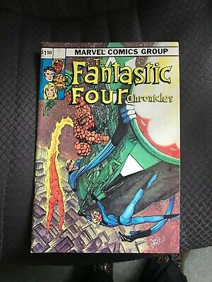 Fantaco's The Fantastic Four Chronicles Special Byrne Cover Jack Kirby Interview